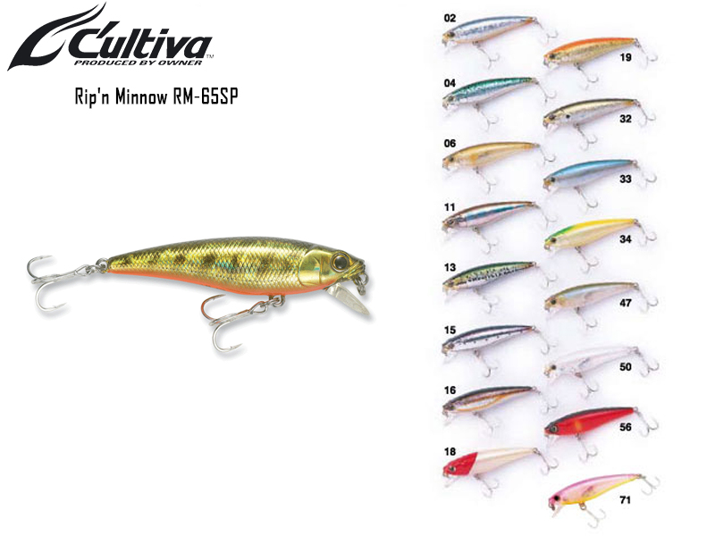 Cultiva Rip\'n Minnow RM-65SP (65mm, 6gr, Colour:11)