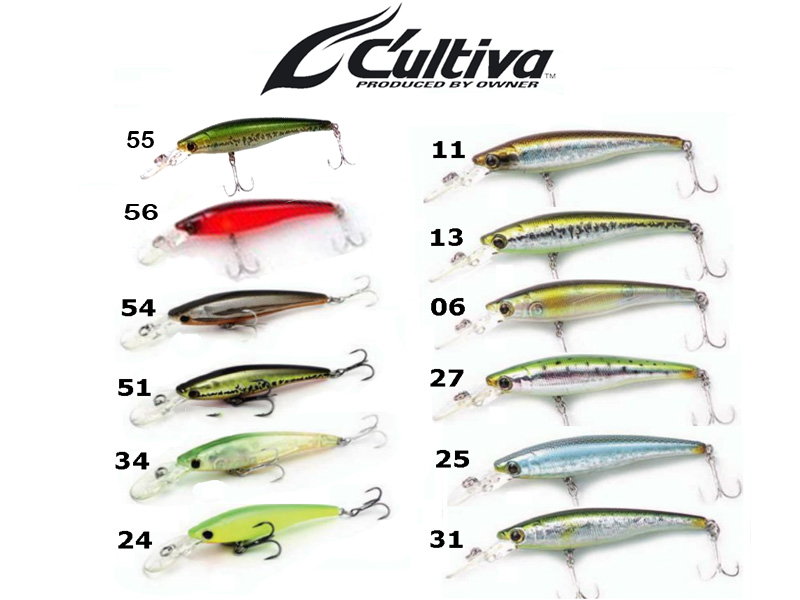Cultiva Rip\'n Minnow RM-70SP (70mm, 6.3gr, Colour:11)