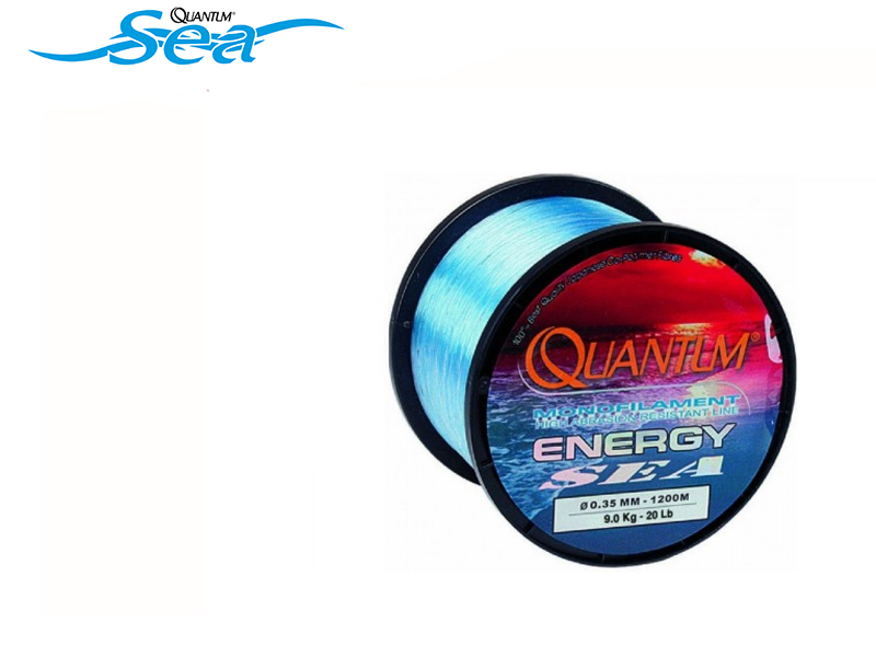 Quantum Energy Sea Line (Size: 0.35mm, Breaking Strength: 9.00kg, Length: 1200mt)
