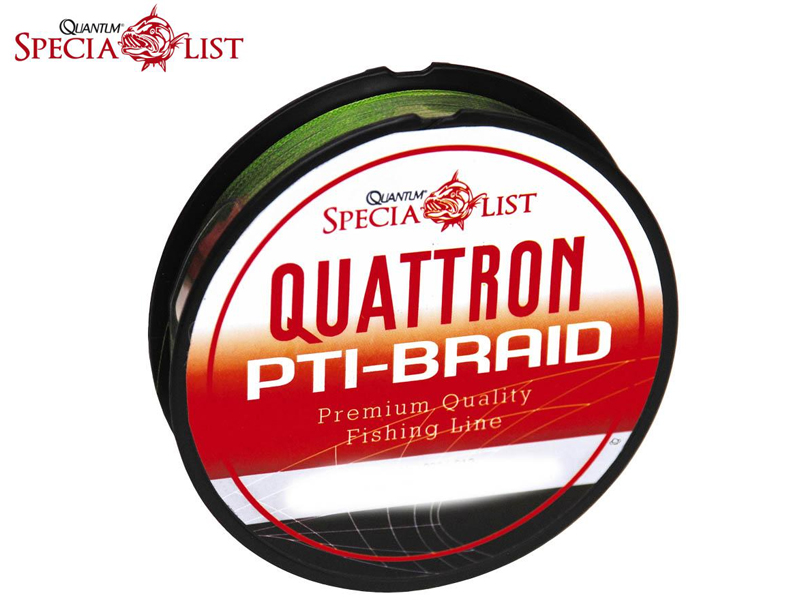 Quantum PTi- Braid Green (Ø:0.35mm, Length:2400m, Colour: Green)