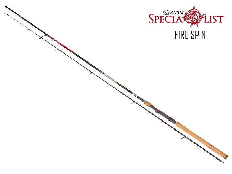 Quantum Fire Spin (Length:2.10mt, C.W:5-20gr, Sections:2)
