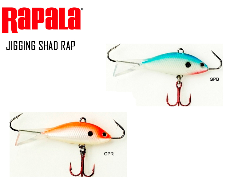 Rapala Jigging Shad Rap (Length: 5cm, Weight: 5/16 oz, Color: GPR)