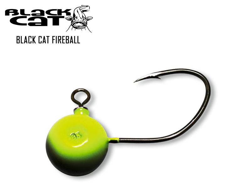 Black Cat Fireball (Weight: 85gr, Hook Size: 9/0)