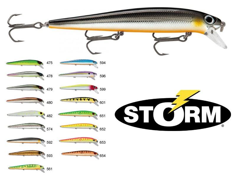 Storm ajm thunderstick madflash 11cm 12g color 482 for Storm fishing lures