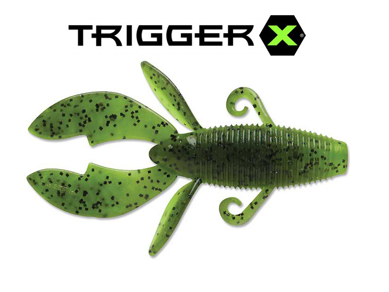 "Trigger X Flappin' Bug (4"",Colour:Watermelon Chart. Pepper)"