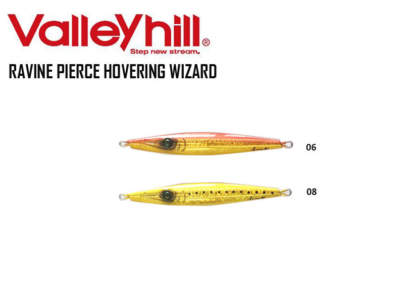 Valley Hill Ravine Pierce Hovering Wizard (Length: 121 mm, Weight: 60gr, Color: 06)