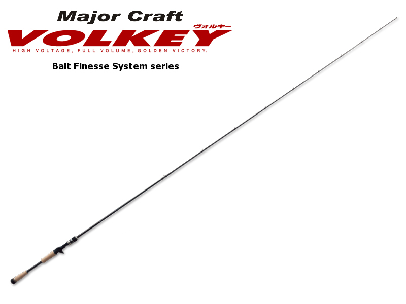 Major Craft Volkey Bait Finesse System Series VKC-682L/BFS (Length: 2.08mt, Lure:1/16-1/4 oz )