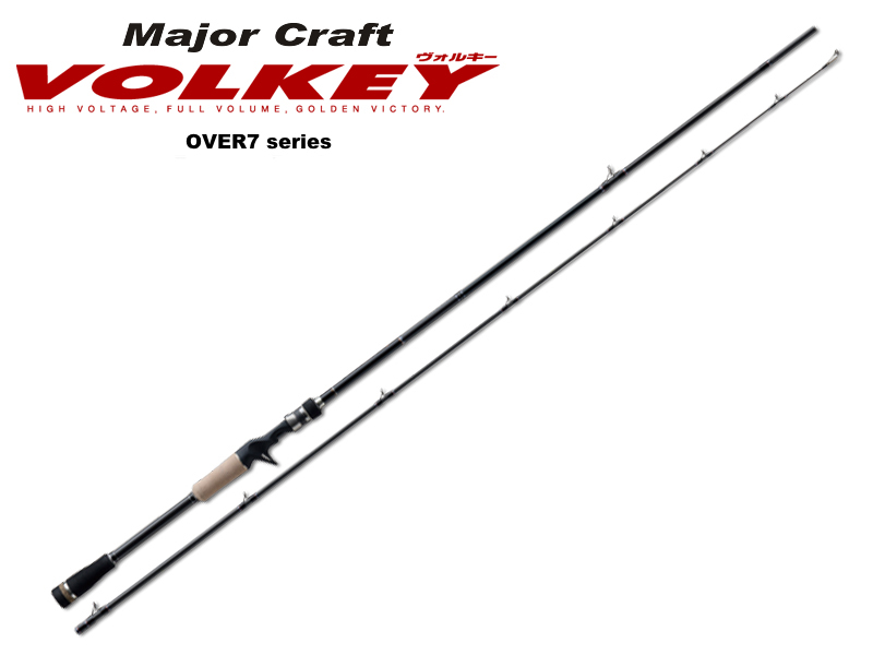 MajorCraft Volkey Over Seven VKS-722UL (Length: 2.19mt, Lure: 1/32-1/4oz, Type: 2pcs Spinning)