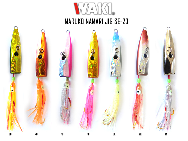 Waki Marugo Namari Jig SE-23 (Weight: 140gr, Color: M)