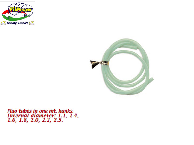 Filpesca Fluo Tube (ID: 1.10mm, Length: 1.00m)