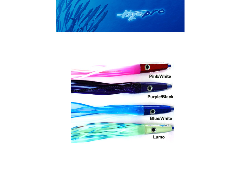"H2OPro Mean Machine Lures (Size: 9"", Color: Pink/White)"