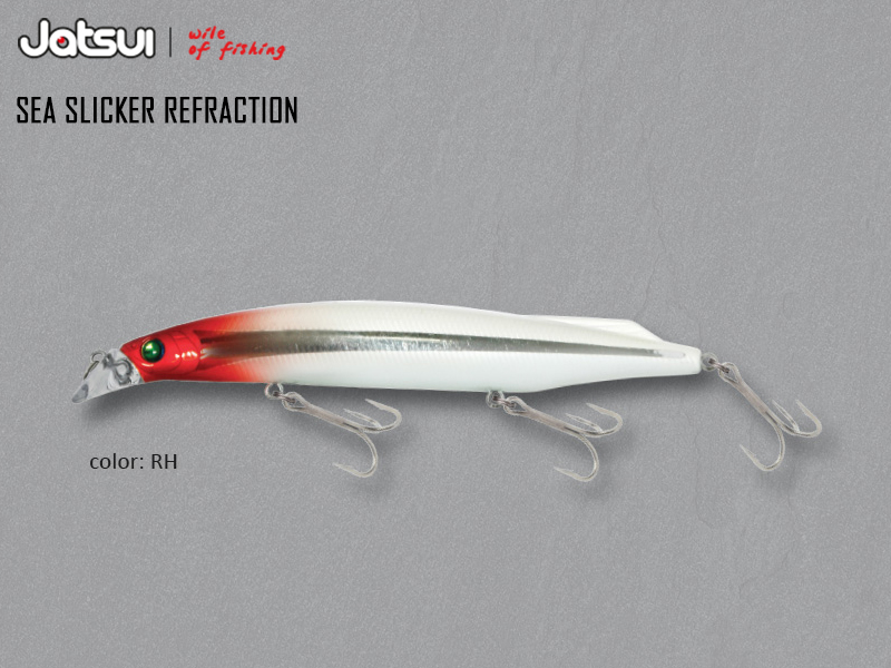 Jatsui Sea Slicker Refraction (Length: 125mm, Weight: 21gr, Color: RH)