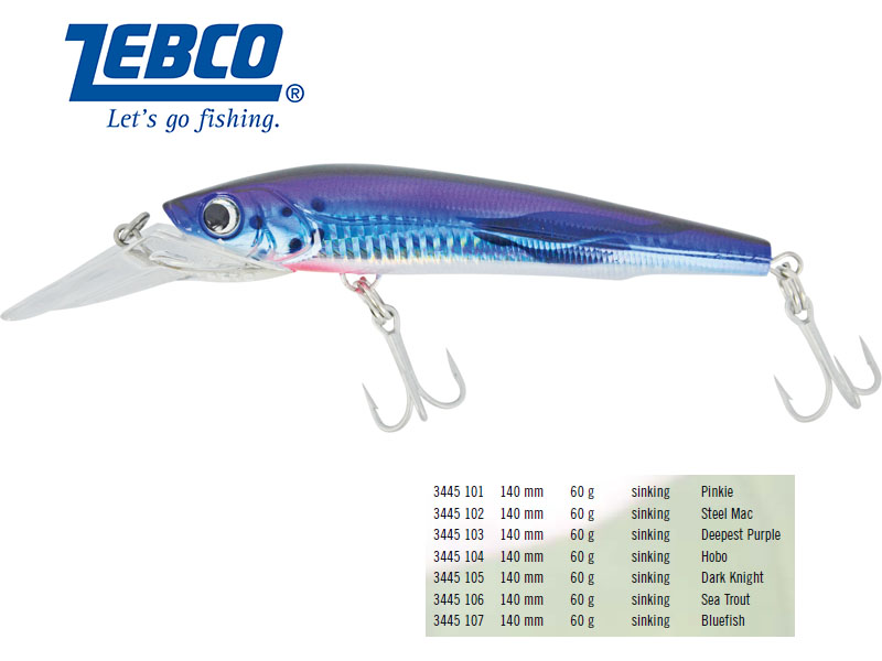 Zebco B-Mac (Length: 140mm, Weight: 60 g, Color: Sea Trout)
