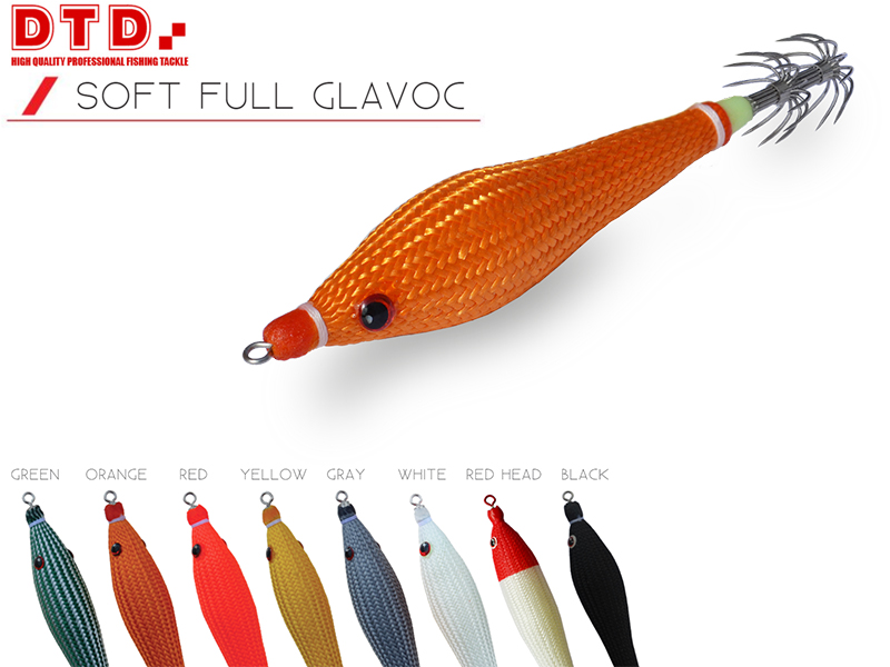 DTD Soft Full Glavoc (Size: 2.5, Color: Orange)