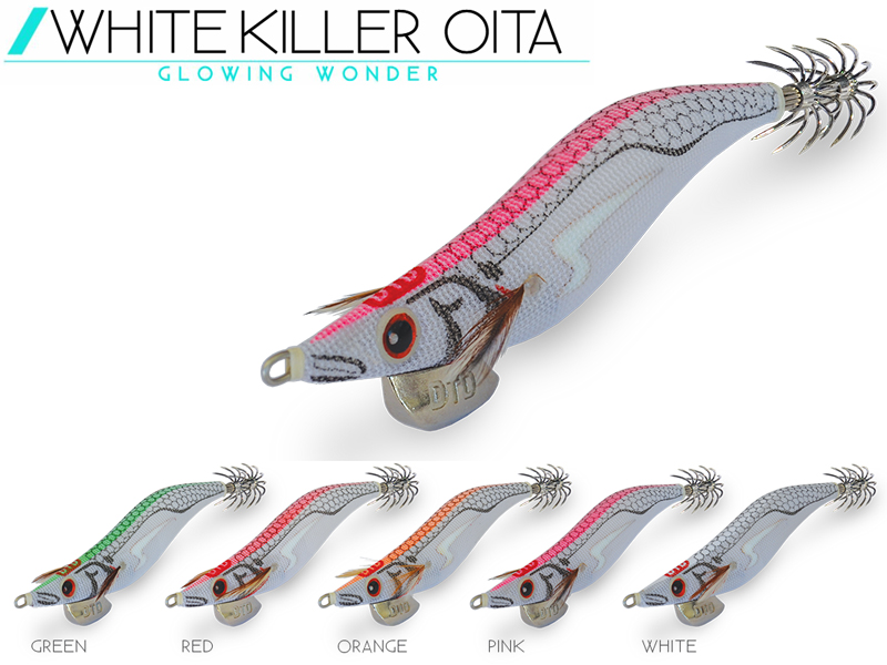 DTD White Killer Oita (Size:3.0, Weight: 16.2gr, Color: Orange)