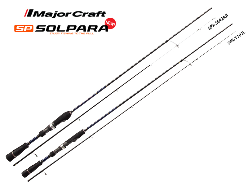Major Craft New SP Solpara Light Game SPX-S762UL (Length: 2.32mt, Lure: 0.4-5gr)