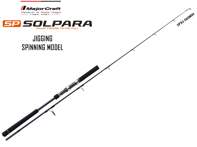 Major Craft New SP Solpara Jigging SPXJ-S60MH (Length: 1.83mt, Lure: 80-180gr)